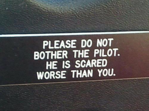 APG 039 – Please Do Not Bother the Pilot